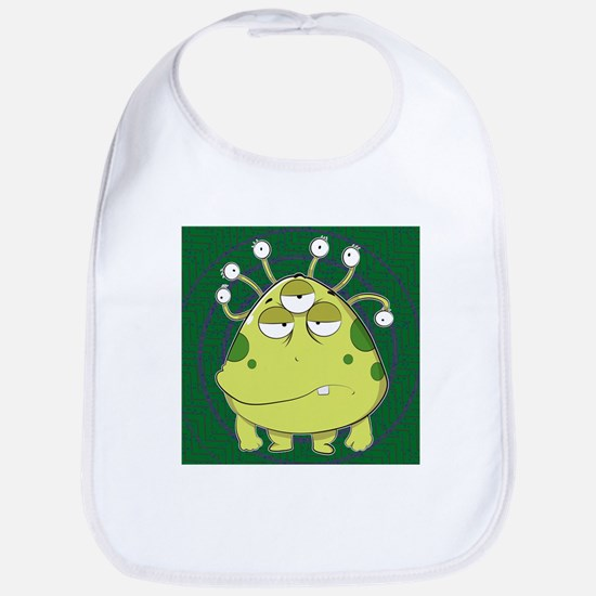 The Most Ugly Alien Ever Baby Bib