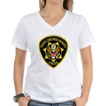 South Chicago Heights Police Women's V-Neck T-Shir