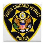 South Chicago Heights Police Tile Coaster