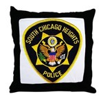 South Chicago Heights Police Throw Pillow