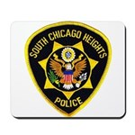 South Chicago Heights Police Mousepad
