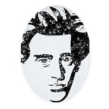 Soren Aabye Kierkegaard Ornament (Oval)