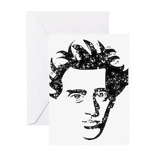 Soren Aabye Kierkegaard Greeting Card