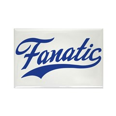 Fanatical Gear (blue) Rectangle Magnet (10 pack)