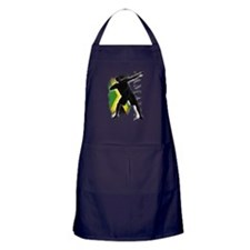 Jamaica - as fast as lightning! - Apron (dark)