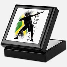 Jamaica - as fast as lightning! - Keepsake Box