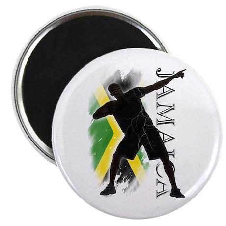 Jamaica - as fast as lightning! - Magnet