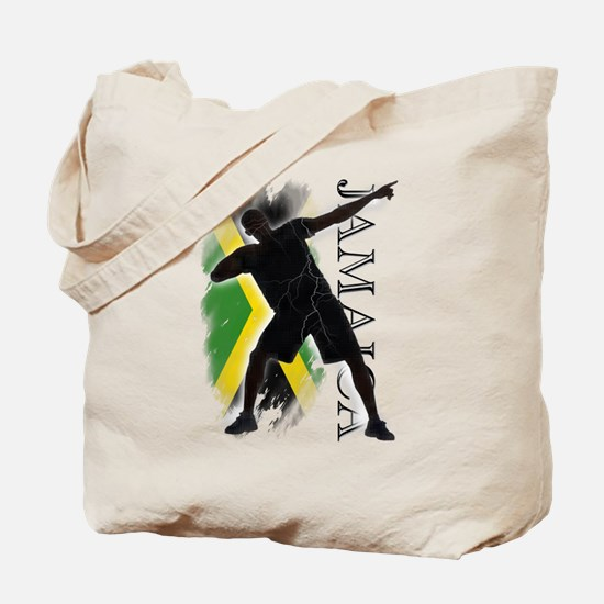 Jamaica - as fast as lightning! - Tote Bag