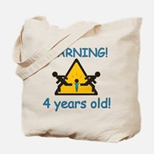 Cute 4 years Tote Bag