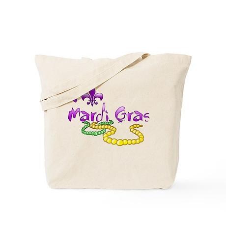 I Fleur-de-Lis Mardi Gras Tote Bag