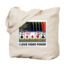 VIDEO POKER IS FUN Tote Bag