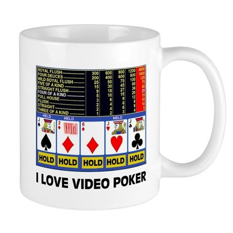 VIDEO POKER IS FUN Mug