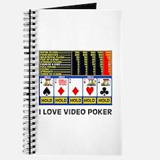 VIDEO POKER IS FUN Journal