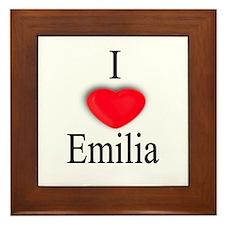 Emilia Framed Tile