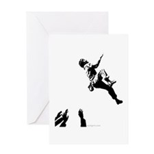 Bouldering Greeting Card