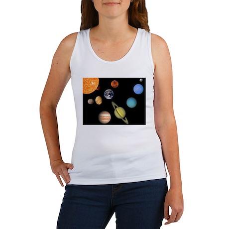 Solar System Planets Women's Tank Top