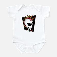 PUNK SKULL-2 Infant Bodysuit