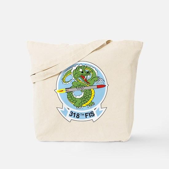 318th FIS Tote Bag