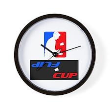 Flip Cup Wall Clock
