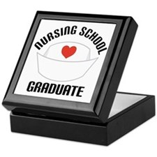 Nursing School Graduate Keepsake Box
