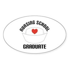 Nursing School Graduate Decal