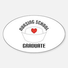 Nursing School Graduate Decal