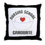 Nursing School Graduate Throw Pillow