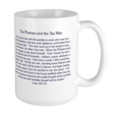 The Pharisee and the Publican Mug (large)