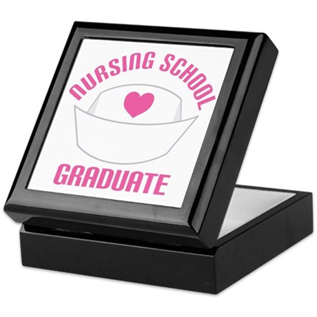 Nursing School Graduation Keepsake Box