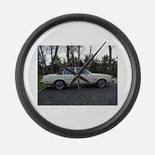 Cutlass Suoreme Sedan Large Wall Clock