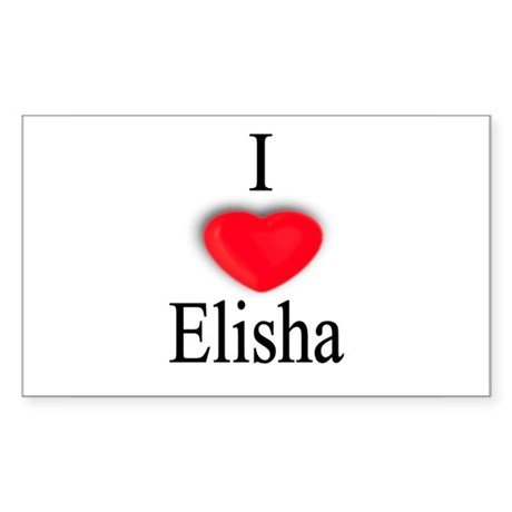 Elisha Rectangle Sticker