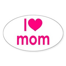I Love Mom: Decal