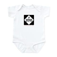 2010 - Just FINISH sign Infant Bodysuit