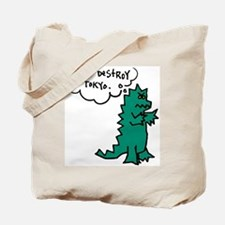 Godzoodle Tote Bag