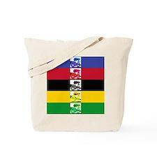 world champ stripes Tote Bag