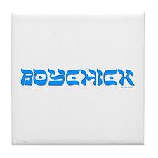 Boychick Yiddish Tile Coaster