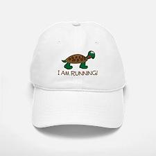 Running Tortoise Baseball Baseball Cap