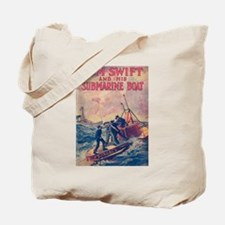 Tom Swift and his Submarine Boat Tote Bag