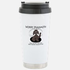 Worry Mammoth Stainless Steel Travel Mug