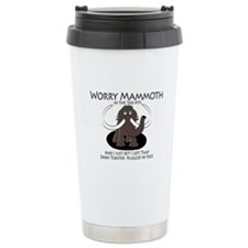Worry Mammoth Travel Mug