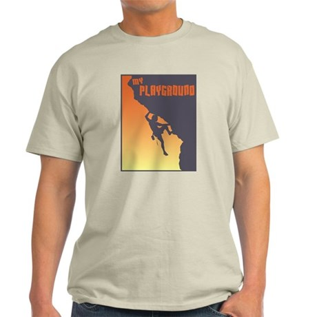 My Playground Rock Climbing Ash Grey T-Shirt