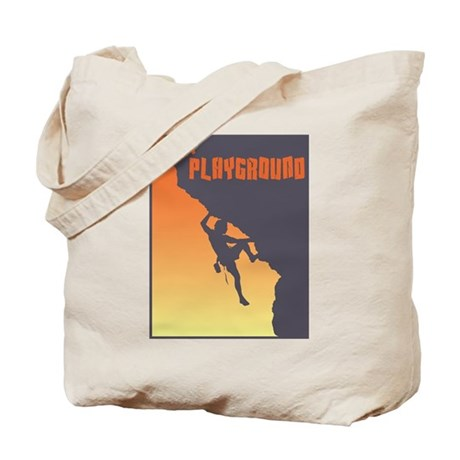 My Playground Rock Climbing Tote Bag