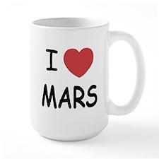 I heart mars Mug