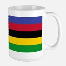 world champ stripes Large Mug