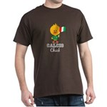 Italian Soccer Calcio Chick Dark T-Shirt