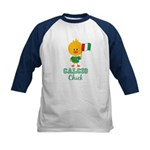 Italian Soccer Calcio Chick Kids Baseball Jersey