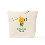 Italian Soccer Calcio Chick Tote Bag
