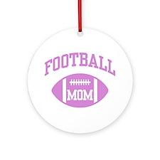 Football Mom Ornament (Round)