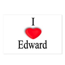 Edward Postcards (Package of 8)