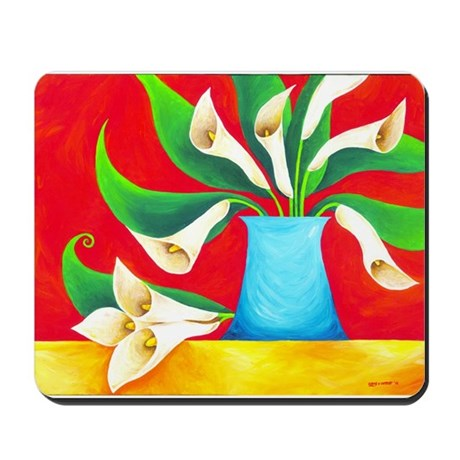 Calla Lilies Mousepad